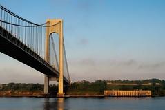 Verrazano Bridge (nyperson) Tags: newyorkcity bridge statenisland verrazanobridge fortwadsworth