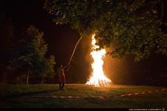 Extintor. (jongoikoh) Tags: fire san juan fuego firefighter sua extintor euskal herria bombero gaua 2015 sondika txorierri suhiltzailea firekiller