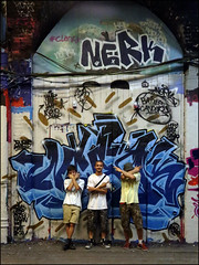 Nerk (Alex Ellison) Tags: urban graffiti boobs waterloo halloffame graff 4d hof lifer thetunnel southeastlondon fugue nerk hmz leakestreet nerkone battlecancer