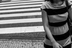 Tokyo Stripes (seanbonner) Tags: leica tokyo monochrom twt 50mmsummilux leicammonochrom