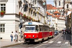 7154 (stephan1mertens) Tags: tram prag t3 pnv strasenbahn sl18