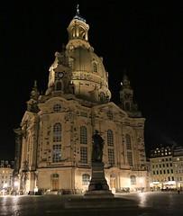 Frauenkirche (Dresden) (fotoeins) Tags: travel night canon deutschland eos dresden europa europe nightlights saxony sachsen 6d canonef24105mmf4lisusm henrylee eos6d fotoeins henrylflee fotoeinscom gtm15