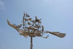 Weather Vane (Grumpys Gallery) Tags: abstract portugal lagos metalwork weathervane sculptures