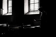 Village Church (c-u-b) Tags: shadow blackandwhite church silhouette religious silhouettes kirche christianity schatten gegenlicht schwarzweis
