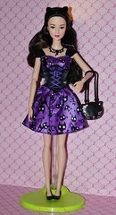 Glam Night Lea in Kitty Kat Outfit (Lovely Lea & Friends) Tags: halloween night cat barbie kitty lea glam moonlight luxe 2015