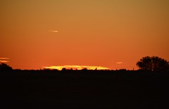 SUNSET AT BEDOURIE QLD