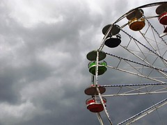 Artscape 2015, Baltimore, Maryland (A CASUAL PHOTGRAPHER) Tags: clouds festivals maryland baltimore ferriswheels carnivalrides artscape