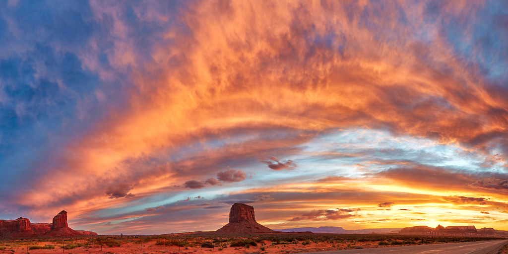 Fire In Monument Valley Kp Tripathi Kps Photo Com Tags