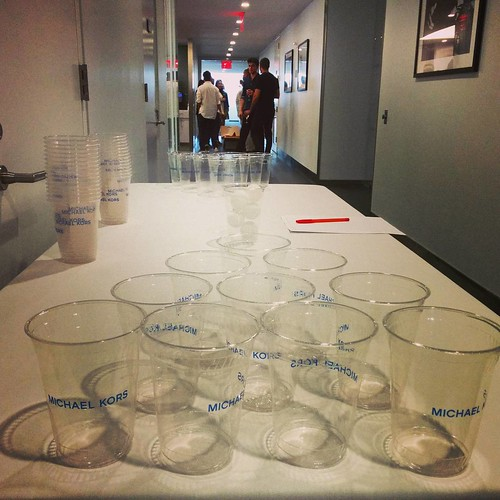 #beerpong at @michaelkors #staffparty #MichaelKors #summerparty
