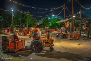 Mater's Junkyard Jamboree Night Shot