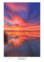 """La Albufera"" Natural Park (Pepelahuerta) Tags: atardeceres canon1635eff4 canon6d degradadoinverso laalbufera singhrayfilters lagos lakers paisajes reflejos sunset dusk twilight"
