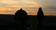Sant Esteve 16 19 (Pemisera) Tags: pemisera pemiserarols josepmariaserarolsphoto castelldecardona sunset cardona bages crepusculo capvespre postadesol fortesse fortalesa castell castllo chateau castle silhouette silueta