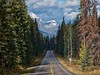 Highway 1A (virgil martin) Tags: mountains clouds highway landscape alberta canada panasoniclumixfz1000 oloneo gimp
