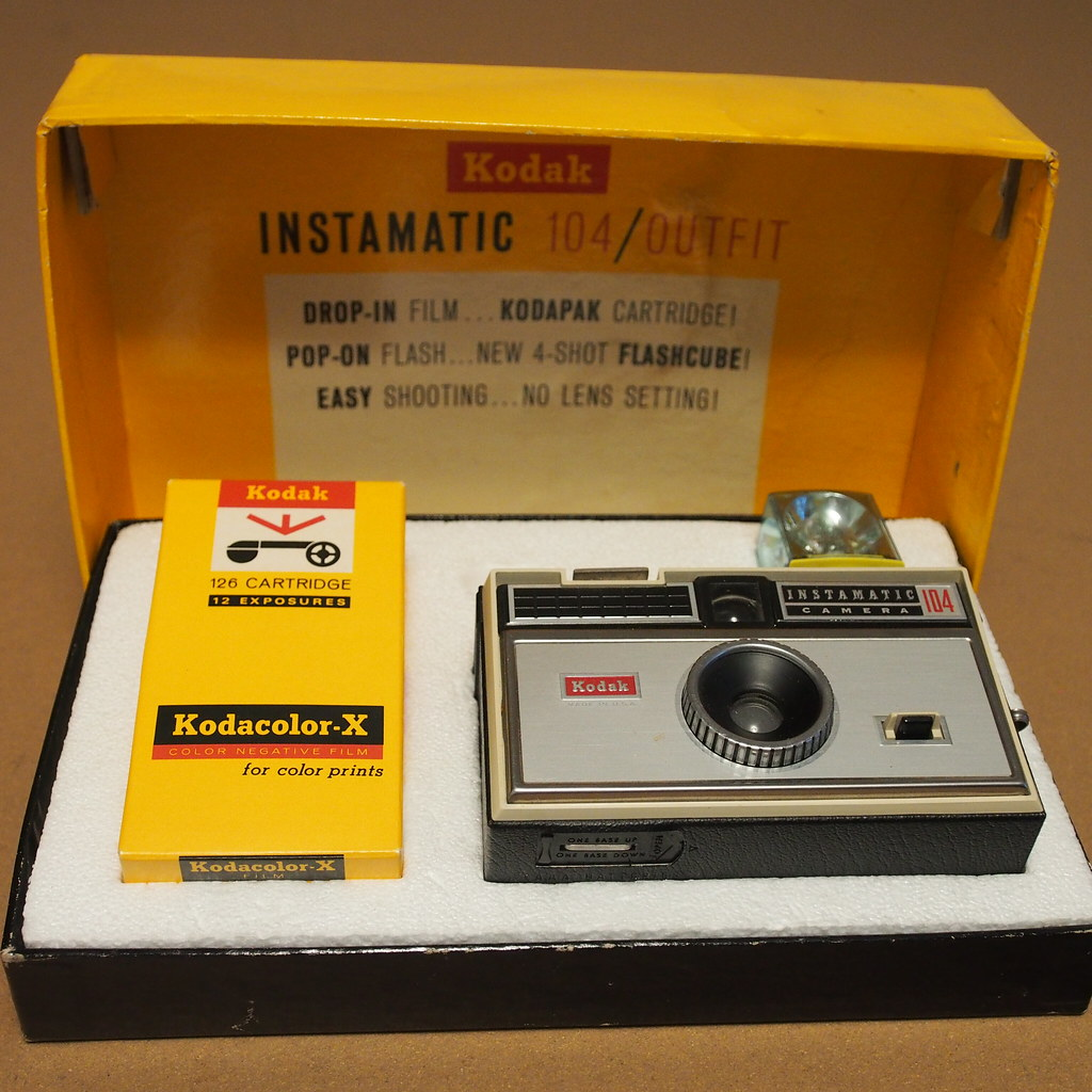 the world s best photos of 126cartridge and instamatic Kodak Instamatic 250 Kodak Instamatic 110