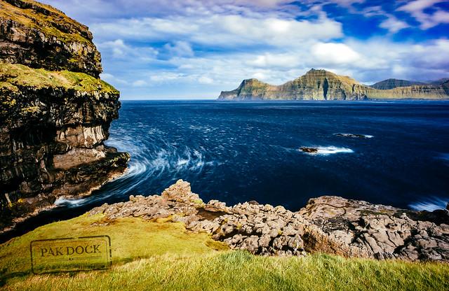 Kalsoy from Gjogv - Faroe Islands