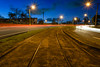 Tram Tracks, Carina, Brisbane (stephenk1977) Tags: australia queensland qld brisbane carina tram tracks heritage register oldcleveland rd road night longexposure nikon d3300