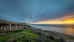 Illuminating (ihikesandiego) Tags: torrey pines state beach sunset san diego del mar
