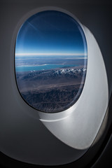 Flying over China (Piotr_PopUp) Tags: airbus380 a380 windowseat warsaw flying frozen fromabove sunrise aerial plane airplane china taklamakan desert landscape landscapefromplane