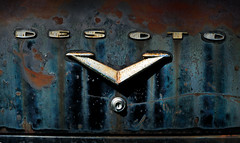 Gangster coffin (hutchphotography2020) Tags: rust chippedpaint desoto v8 trunk