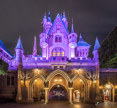 Back of Sleeping Beauty Castle Vertical (Pirate Scott) Tags: disney disneyland canoneos5dmarkiv sleepingbeautycastle