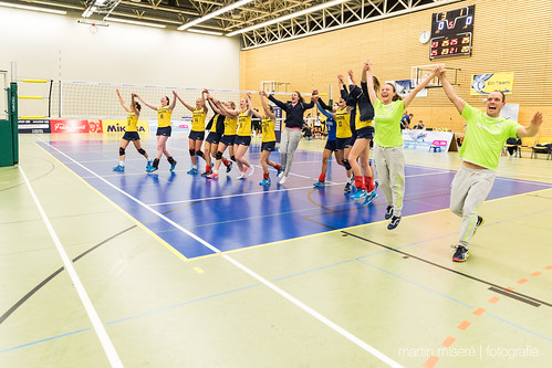"3. Heimspiel vs. Volleyball-Team Hamburg • <a style=""font-size:0.8em;"" href=""http://www.flickr.com/photos/88608964@N07/32003258743/"" target=""_blank"">View on Flickr</a>"