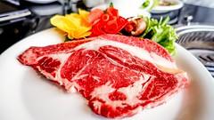 เนื้อวัวสำหรับเมนูปิ้งย่างสไตล์เกาหลี จากร้านดูเร DooRae Korean Restaurant