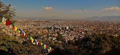 "NEPAL, Blick auf Kathmandu von der Stupa von Swayambhunath, 15115/7794 (roba66) Tags: reisen travel explore voyages urlaub visit roba66 nepal asien südasien asia city stadt capitol kathmandubefore earthquake ""stupa von swayambhunath"" stupa swayambhunath tempel tempelanlage maincity view blick urban"