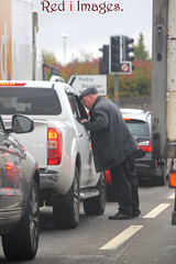 Who you honking your horn at? (northernkite) Tags: dundee motorists anger talking irate traffic lights scotland