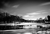 Matawin River (s.W.s.) Tags: saintmicheldessaints quebec canada river outdoor nature ice snow winter blackandwhite bw neutraldensity ndfilter longexposure nikon d3300 lightroom