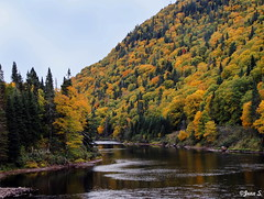... (Jean S..) Tags: river water sky hill waves autumn fall outdoor park colors green yellow blue day