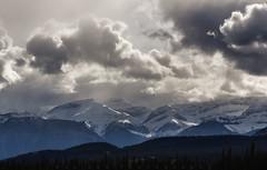 Morning Lights Show (Bun Lee) Tags: canadianrockies landscape rockymountains bunlee bunleephotography canada canadian clouds cloudscapes cloudyskies fog foggy jaspernationalpark mountainrange mountains nature wilderness