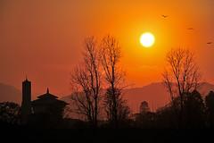 Good Evenning Nepal (susilsaurav) Tags: sunset kathmandu nepal landscape