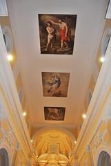 Soffitto della chiesa