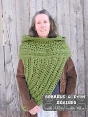 HuntressCowlHooded05a (zreekee) Tags: crochet sparkledoomdesigns saskatchewan mammadiy katniss hungergames