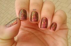 The Uptown - Color Club (Raabh Aquino) Tags: unhas esmaltes mãos hands flocado flackies