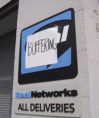 real-buffering by 'nicedexter', CC BY-NC-SA