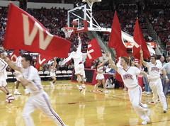 Flags layup (Moon Zero Bird) Tags: basketball nc state north northcarolina raleigh carolina hoops ncsu wolfpack ncstate top20sports