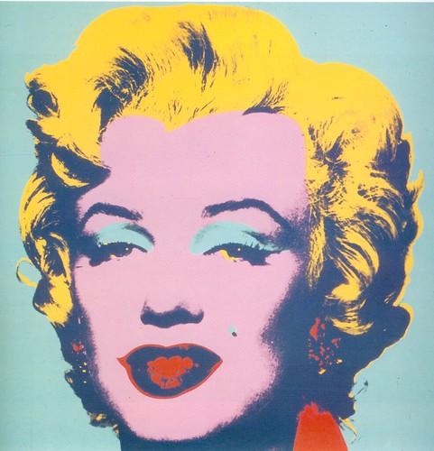 Andy Warhol - Marilyn 1967 by oddsock.