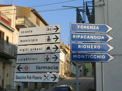 road signs (Mopped Top) Tags: road italy signs forenza maschito monticchio rionero ripacandida