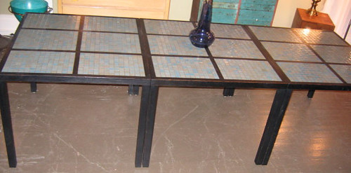 Tile top dining tables - View 2