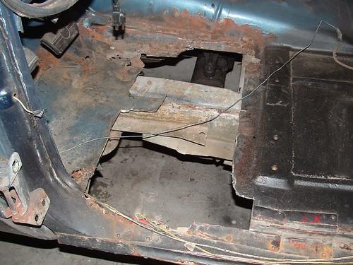 Blazer - Floor cut out.