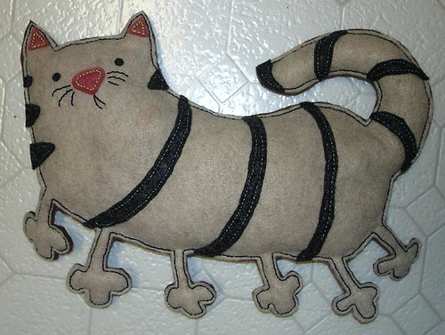 cat-erpillar stuffed animal