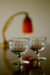 Old Baccarat, White Wine Glass (very possibly), around 1900 - by titanium22