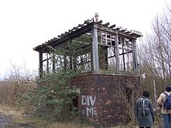 Signal Box (dickyhart) Tags: history abandoned lost scotland glasgow scottish trains railways lanarkshire