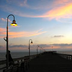 Pier in Ventura (SophieMuc) Tags: ocean california sunset pier ventura