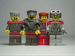 Eastern Block Revolutionary Council (Dunechaser) Tags: lenin lego trotsky scifi sciencefiction minifig minifigs gorky stalin  easternblock
