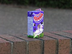 Ribena (Ruddington Photos) Tags: wall january litter rubbish carton ribena ruddington 4gskgas