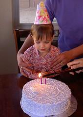Her First Birthday Cake, Ana Turns 2