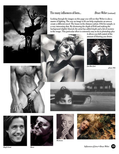 The many influences of form: Bruce Weber (2 of 2)