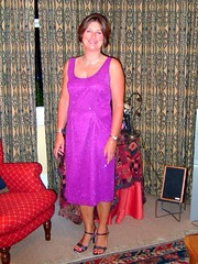 Purple dress (copperbottom1uk) Tags: bridget